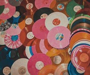 music, vinyl, and aesthetic image