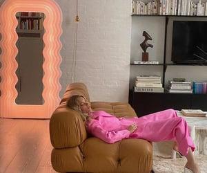 elsa hosk, fashion, and living room image