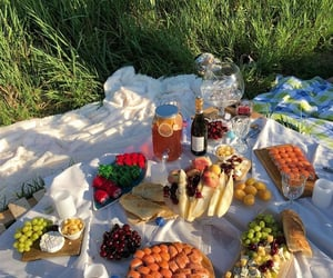 fruit and picnic image