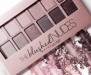 makeup, Nude, and beauty image