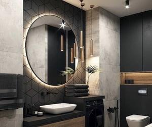 bathroom and modern image