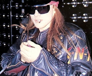 80s, axl rose, and guns and roses image