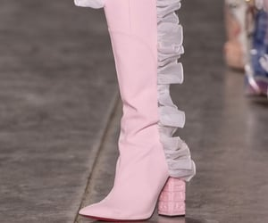 blush, pink, and ruffles image
