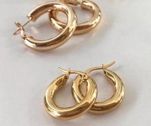 accessories, chic, and earrings image