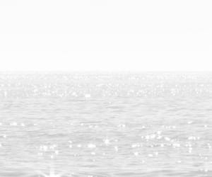 white, sea, and wallpaper image