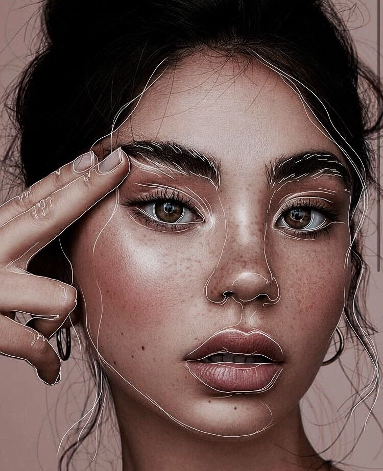 article, eyebrows, and glamour image