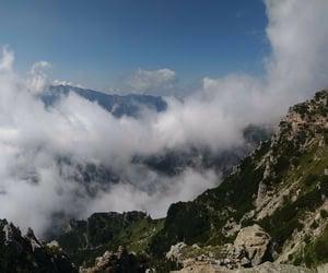 grey, montagna, and cloud image