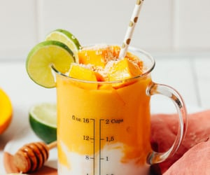 mango, sugar, and vegan image