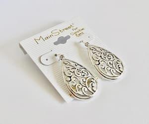 etsy, chandelier earrings, and pierced earrings image