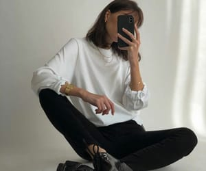 outfit, fashion, and minimalist image