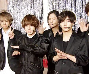 gif, japanese, and hey say jump image