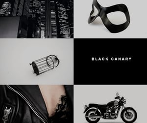 aesthetic, birds of prey, and Black Canary image