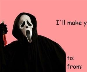 skeet ulrich, scream, and valentines image