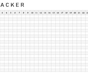 30 day challenge, habit tracker, and monthly habit tracker image