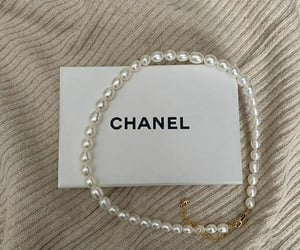 necklace, brand, and chanel image