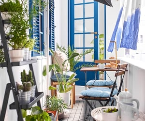 balcony, ikea, and home decor image