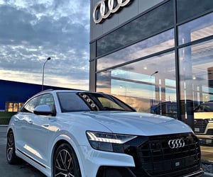 car, audi, and beauty image