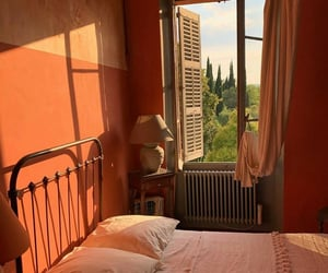 bedroom, italy, and view image