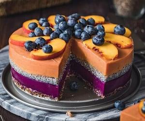 comida, delicioso, and tart image