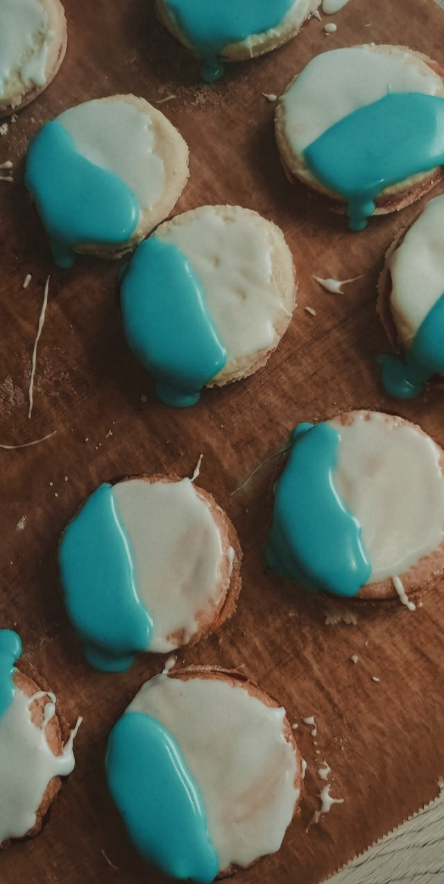 aesthetic, baking, and biscuit image