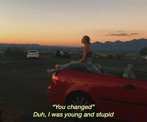 stupid, was, and young image