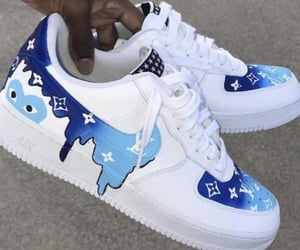 blue, shoes, and sneakers image