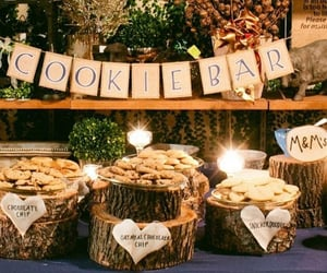 Cookies, desserts, and wedding food image