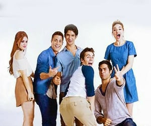 family and teenwolfcast image