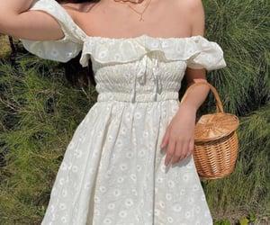 dress, girl, and aesthetic image
