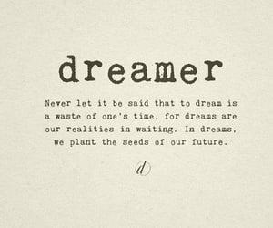 Dream, dreamer, and future image