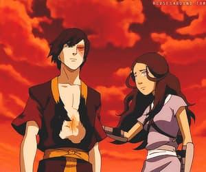 avatar, cartoon, and zutara image