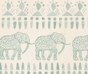 elephant, tribal, and wallpaper image