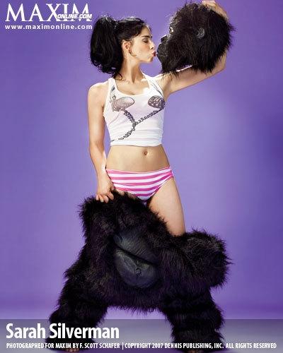 gorilla, photo, and sarah silverman image