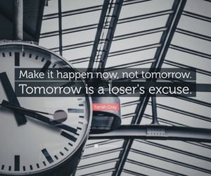 make it happen, inspiring quote, and happy monday image