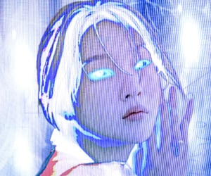 alternative, blue, and cyber image