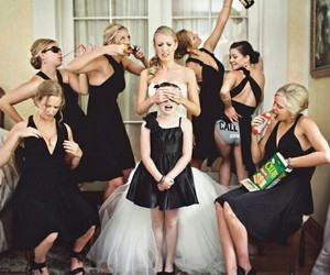 wedding, bridesmaid, and funny image