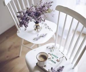 coffee, cozy, and flowers image