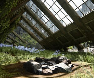 camp, ruins, and dystopian image