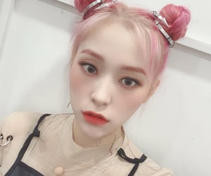 dreamcatcher, pink hair, and selca selfie image