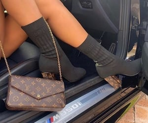 car, fashion, and Louis Vuitton image