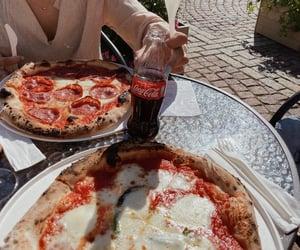 cocacola, helsinki, and pizza image