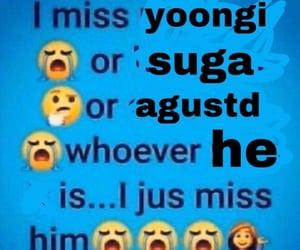 meme, bts, and yoongi image