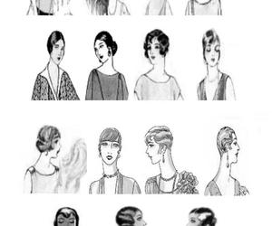 1920, 1930, and hairstyle image