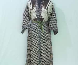 gift for her, hippy kimono, and floral kimono image