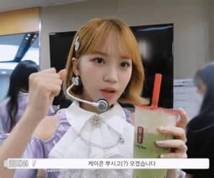 drink, kpop, and gif image