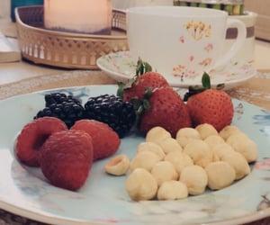 fruit and tea image