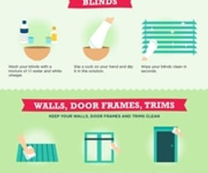 cleaning tips, cleaning hacks, and spring cleaning hacks image