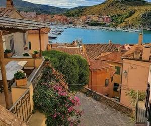 bellagio, Houses, and sea image