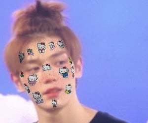 superm, nct127, and filter image