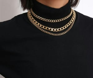 accessories, turtle neck, and aesthetic image